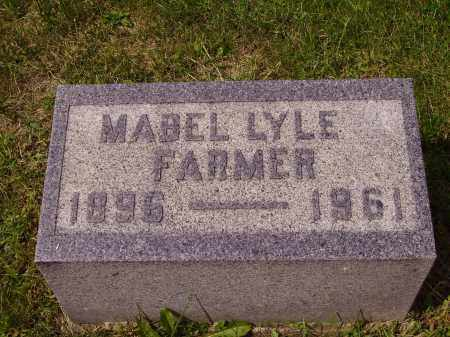 LYLE FARMER, MABLE - Meigs County, Ohio | MABLE LYLE FARMER - Ohio Gravestone Photos