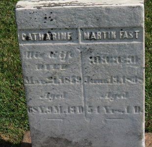 FAST, CATHARINE - Meigs County, Ohio | CATHARINE FAST - Ohio Gravestone Photos