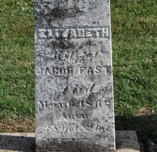 FAST, JACOB - Meigs County, Ohio | JACOB FAST - Ohio Gravestone Photos