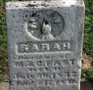FAST, SARAH - Meigs County, Ohio | SARAH FAST - Ohio Gravestone Photos