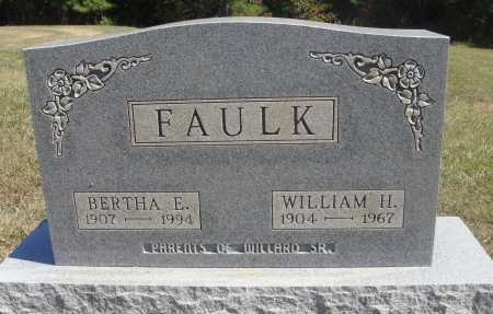 FAULK, BERTHA E. - Meigs County, Ohio | BERTHA E. FAULK - Ohio Gravestone Photos