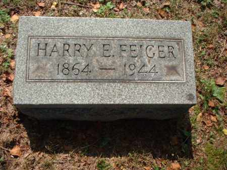 FEIGER, HARRY E. - Meigs County, Ohio | HARRY E. FEIGER - Ohio Gravestone Photos