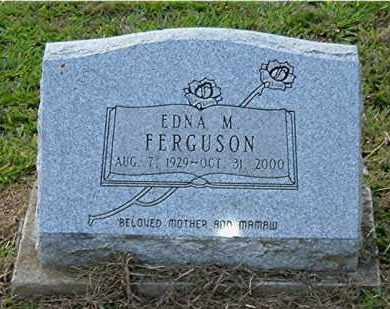 FERGUSON, EDNA M. - Meigs County, Ohio | EDNA M. FERGUSON - Ohio Gravestone Photos