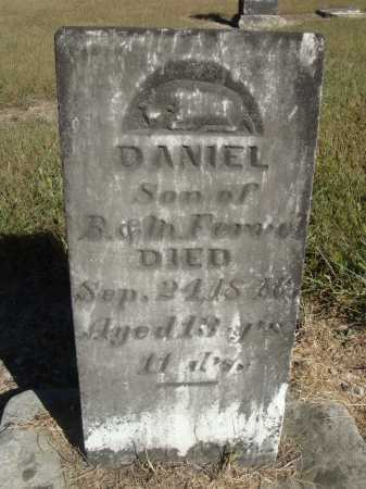 FERREL, DANIEL - Meigs County, Ohio | DANIEL FERREL - Ohio Gravestone Photos
