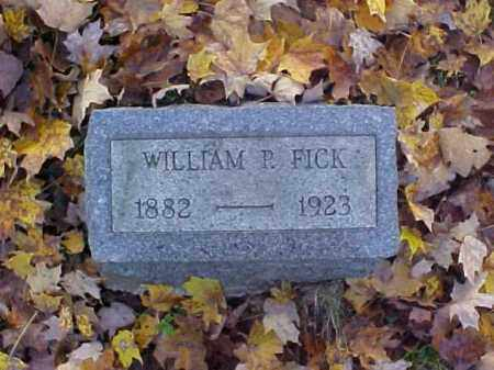 FICK, WILLIAM PHILIP - Meigs County, Ohio | WILLIAM PHILIP FICK - Ohio Gravestone Photos