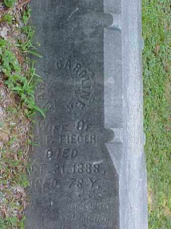 FIEGER, MARTHA CAROLINE - Meigs County, Ohio | MARTHA CAROLINE FIEGER - Ohio Gravestone Photos