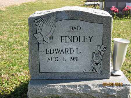 FINDLEY, EDWARD L - Meigs County, Ohio | EDWARD L FINDLEY - Ohio Gravestone Photos