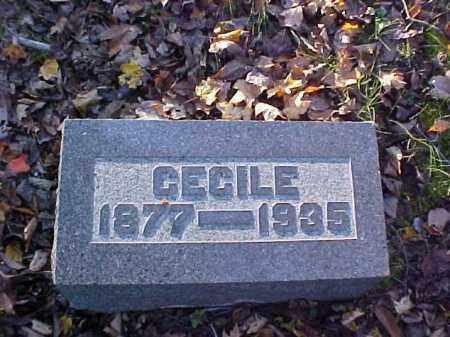 FINLAW, CECILE - Meigs County, Ohio | CECILE FINLAW - Ohio Gravestone Photos