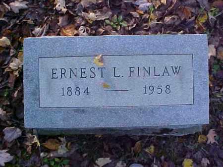 FINLAW, ERNEST L. - Meigs County, Ohio | ERNEST L. FINLAW - Ohio Gravestone Photos