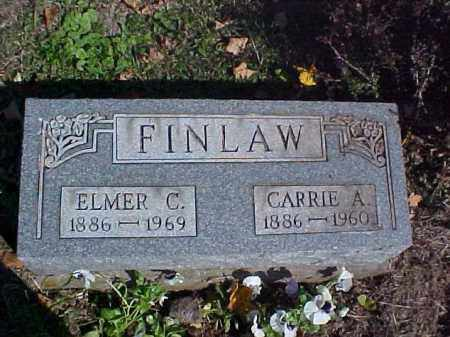 FINLAW, ELMER C. - Meigs County, Ohio | ELMER C. FINLAW - Ohio Gravestone Photos