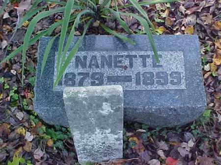 FINLAW, NANATTE - Meigs County, Ohio | NANATTE FINLAW - Ohio Gravestone Photos