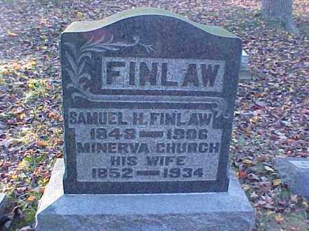 CHURCH FINLAW, MINERVA - Meigs County, Ohio | MINERVA CHURCH FINLAW - Ohio Gravestone Photos