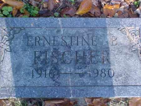 FISCHER, ERNESTINE B. - Meigs County, Ohio | ERNESTINE B. FISCHER - Ohio Gravestone Photos
