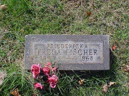 "FISCHER, FRIEDERICKA ""FREDA"" - Meigs County, Ohio 