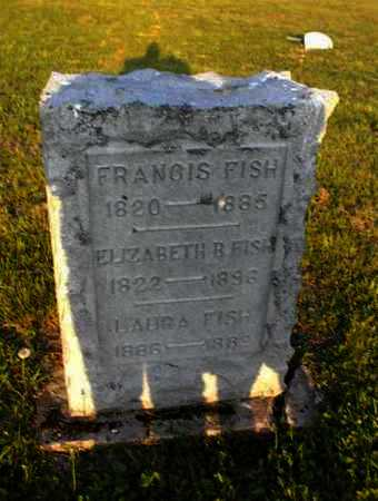 FISH, FRANCIS - Meigs County, Ohio | FRANCIS FISH - Ohio Gravestone Photos