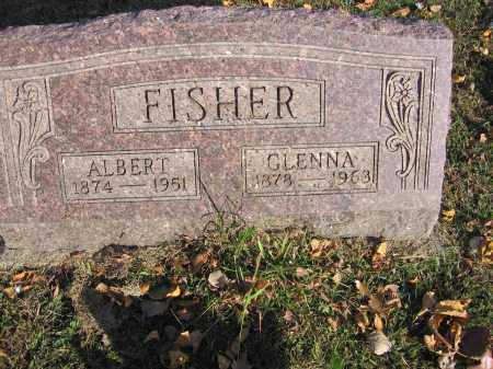FISHER, GLENNA - Meigs County, Ohio | GLENNA FISHER - Ohio Gravestone Photos
