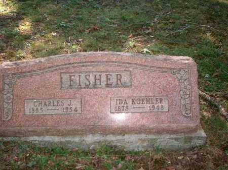 FISHER, CHARLES J. - Meigs County, Ohio | CHARLES J. FISHER - Ohio Gravestone Photos