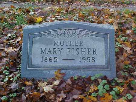 FISHER, MARY - Meigs County, Ohio | MARY FISHER - Ohio Gravestone Photos