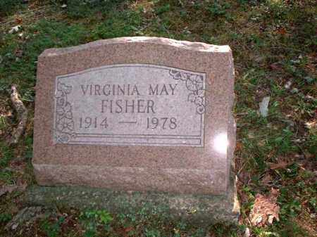 FISHER, VIRGINIA MAY - Meigs County, Ohio | VIRGINIA MAY FISHER - Ohio Gravestone Photos