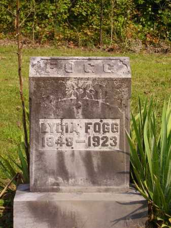 FOGG, LYDIA - Meigs County, Ohio | LYDIA FOGG - Ohio Gravestone Photos