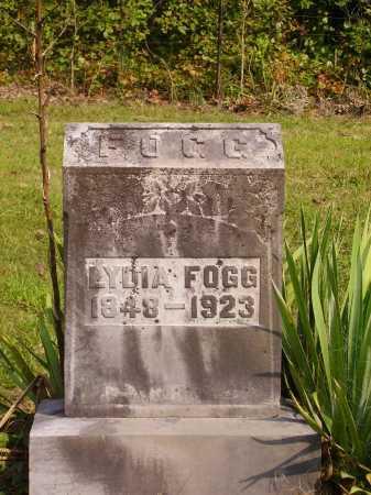FOGG, LYDIA - Meigs County, Ohio | LYDIA FOGG - Ohio Gravestone Photos