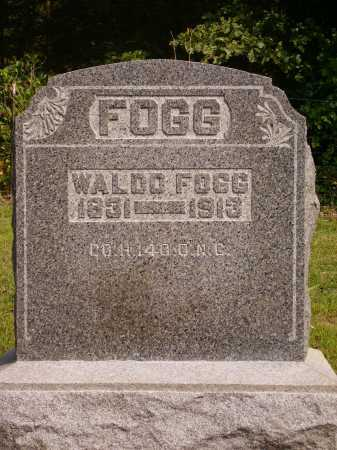 FOGG, WALDO - Meigs County, Ohio | WALDO FOGG - Ohio Gravestone Photos