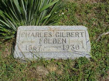 FOLDEN, CHARLES GILBERT - Meigs County, Ohio | CHARLES GILBERT FOLDEN - Ohio Gravestone Photos
