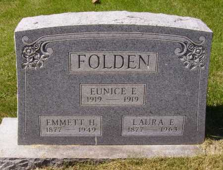 FOLDEN, LAURA E. - Meigs County, Ohio | LAURA E. FOLDEN - Ohio Gravestone Photos