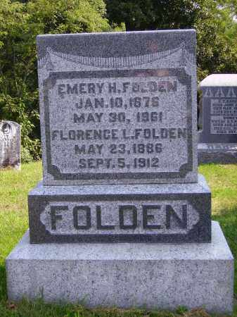 FOLDEN, EMERY H. - Meigs County, Ohio | EMERY H. FOLDEN - Ohio Gravestone Photos