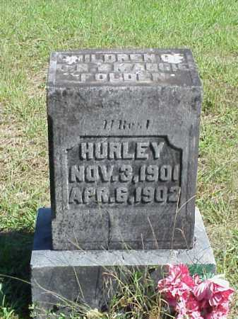 FOLDEN, HURLEY - Meigs County, Ohio | HURLEY FOLDEN - Ohio Gravestone Photos