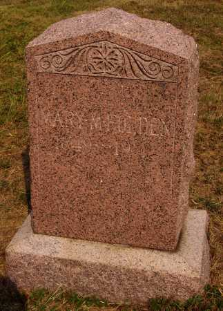 FOLDEN, MARY MAGDALINE - Meigs County, Ohio   MARY MAGDALINE FOLDEN - Ohio Gravestone Photos