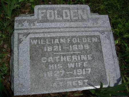 CLARK FOLDEN, CATHERINE - Meigs County, Ohio | CATHERINE CLARK FOLDEN - Ohio Gravestone Photos