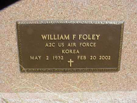 FOLEY, WILLIAM F. - Meigs County, Ohio | WILLIAM F. FOLEY - Ohio Gravestone Photos