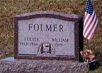 FOLMER, WILLIAM - Meigs County, Ohio | WILLIAM FOLMER - Ohio Gravestone Photos