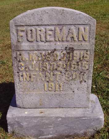 FOREMAN, INFANT - Meigs County, Ohio | INFANT FOREMAN - Ohio Gravestone Photos