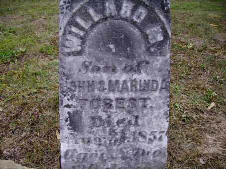 FOREST, WILLARD M. - CLOSEVIEW - Meigs County, Ohio | WILLARD M. - CLOSEVIEW FOREST - Ohio Gravestone Photos