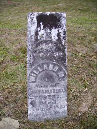 FOREST, WILLARD M. - Meigs County, Ohio | WILLARD M. FOREST - Ohio Gravestone Photos