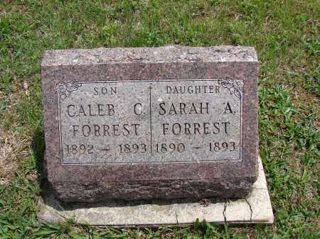 FORREST, CALEB C - Meigs County, Ohio | CALEB C FORREST - Ohio Gravestone Photos