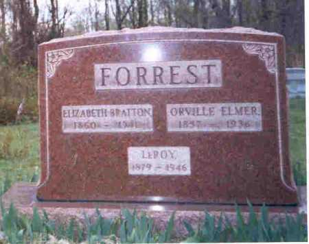 FORREST, LEROY - Meigs County, Ohio | LEROY FORREST - Ohio Gravestone Photos