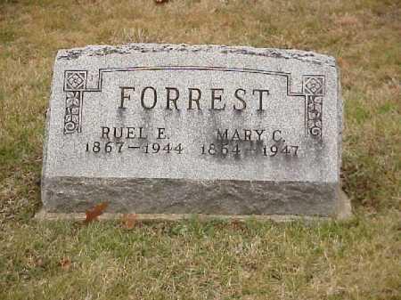 FORREST, RUEL E. - Meigs County, Ohio | RUEL E. FORREST - Ohio Gravestone Photos