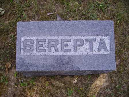 FORREST, SEPERTA - FOOTSTONE - Meigs County, Ohio | SEPERTA - FOOTSTONE FORREST - Ohio Gravestone Photos