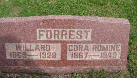 FORREST, WILLARD - Meigs County, Ohio | WILLARD FORREST - Ohio Gravestone Photos