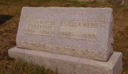 WEBB, ESTELLA - Meigs County, Ohio | ESTELLA WEBB - Ohio Gravestone Photos