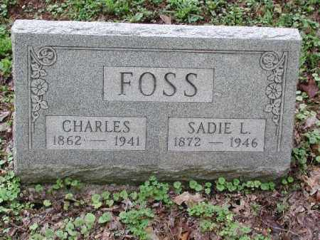 FOSS, SADIE L. - Meigs County, Ohio | SADIE L. FOSS - Ohio Gravestone Photos