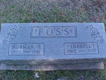 FOSS, IDANELL - Meigs County, Ohio | IDANELL FOSS - Ohio Gravestone Photos
