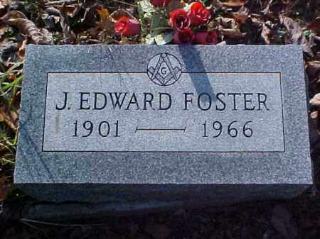 FOSTER, J. EDWARD - Meigs County, Ohio | J. EDWARD FOSTER - Ohio Gravestone Photos