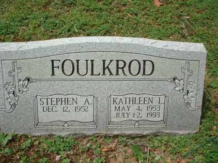 FOULKROD, STEPHEN A. - Meigs County, Ohio | STEPHEN A. FOULKROD - Ohio Gravestone Photos