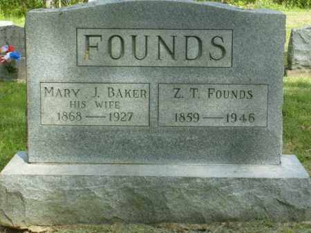 FOUNDS, ZACHARIAH TAYLOR - Meigs County, Ohio | ZACHARIAH TAYLOR FOUNDS - Ohio Gravestone Photos