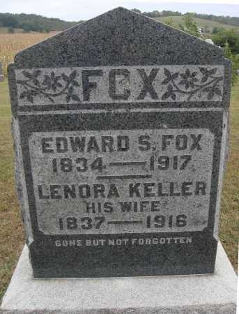 KELLER FOX, LENORA - Meigs County, Ohio | LENORA KELLER FOX - Ohio Gravestone Photos