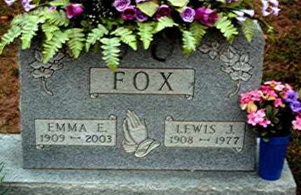 FOX, EMMA E. - Meigs County, Ohio | EMMA E. FOX - Ohio Gravestone Photos